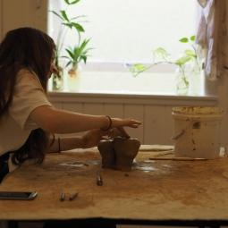 Rhiannon Dionysius, Body building 2017, workshop series